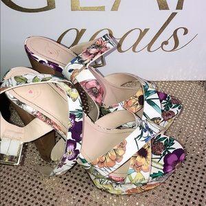 Dollhouse Floral Print Heel
